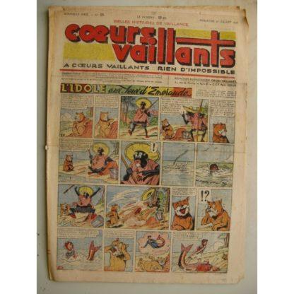 COEURS VAILLANTS N°29 (FLEURUS 1948)