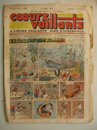 COEURS VAILLANTS N°28 (FLEURUS 1948)