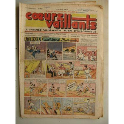 COEURS VAILLANTS N°14 (FLEURUS 1948)