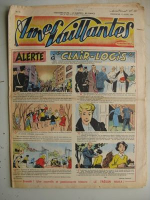 AMES VAILLANTES N°15 (FLEURUS 1954)