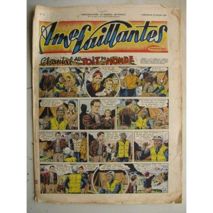 AMES VAILLANTES N°12 (FLEURUS 1952) La boule d'or de Babou (Calvo) Perlin et Pinpinvedettes de cirque (Maurice Cuvillier)