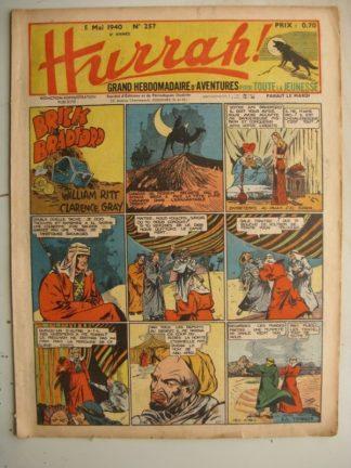 HURRAH N°257 (5 mai 1940) Editions Mondiales