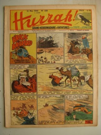 HURRAH N°258 (12 mai 1940) Editions Mondiales