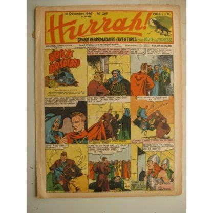 HURRAH N°267 (31 décembre 1940) Editions Mondiales