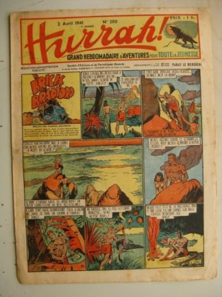 HURRAH N°280 (2 avril 1941) Editions Mondiales