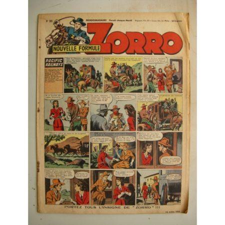 ZORRO JEUDI MAGAZINE N°305 (10 avril 1952) Editions Chapelle