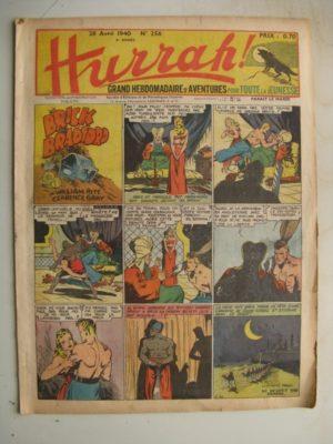 HURRAH N°256 (28 avril 1940) Editions Mondiales