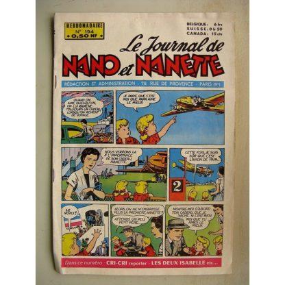 NANO ET NANETTE n° 194 (1960)