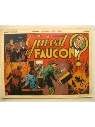 COLLECTION LES BELLES AVENTURE - CHARLIE CHAN (Qui est le Faucon) Editions Mondiales 1946
