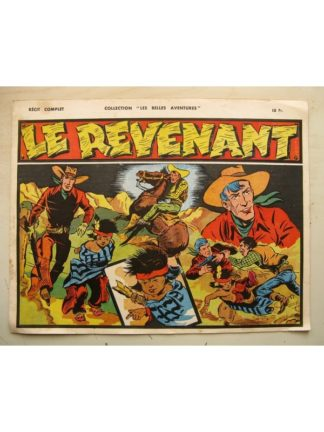 COLLECTION LES BELLES AVENTURE - RED RYDER - Le Revenant (Fred Harmann) Editions Mondiales 1947