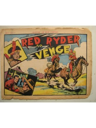 COLLECTION LES BELLES AVENTURE - RED RYDER SE VENGE (Fred Harmann) Editions Mondiales 1947