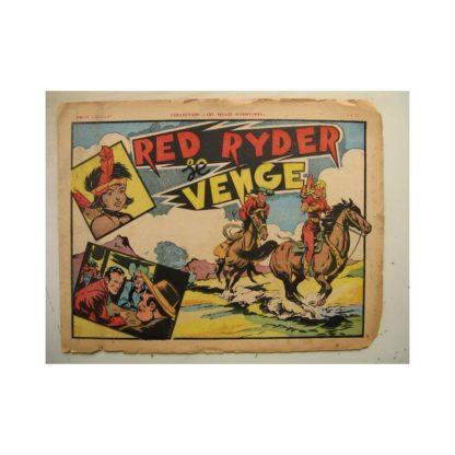 COLLECTION LES BELLES AVENTURE - RED RYDER SE VENGE (Fred Harmann) Editions Mondiales 1947