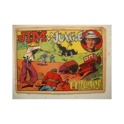 RECIT COMPLET - APPEL DE LA JUNGLE AG N°9 JIM LA JUNGLE - L'EMBUSCADE (SAGE 1950)