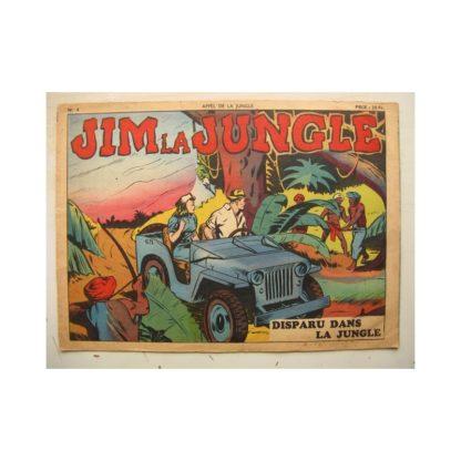 RECIT COMPLET - APPEL DE LA JUNGLE N°4 JIM LA JUNGLE - DISPARU DANS LA JUNGLE (SAGE 1949)