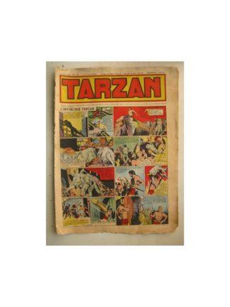 Tarzan Editions Mondiales (Del Duca) n°151 - 14 août 1949