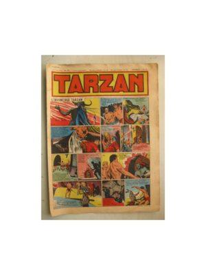 Tarzan Editions Mondiales n°152 – 21 août 1949 – Hogarth – Giffey – Buffalo Bill – Capitaine Risque tout
