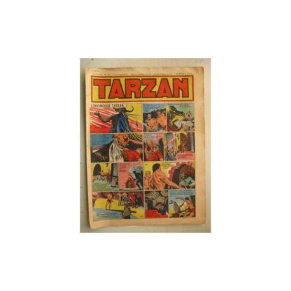 Tarzan Editions Mondiales (Del Duca) n°152 - 21 août 1949