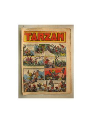 Tarzan Editions Mondiales n°154 – 4 septembre 1949 – Hogarth – Giffey – Buffalo Bill – Capitaine Risque tout