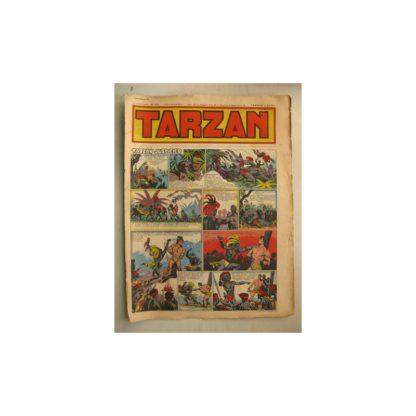 Tarzan Editions Mondiales (Del Duca) n°154 - 4 septembre 1949