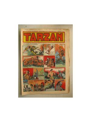 Tarzan Editions Mondiales n°156 – 18 septembre 1949 – Hogarth – Giffey – Buffalo Bill – Capitaine Risque tout