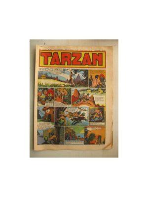 Tarzan Editions Mondiales n°157 – 23 septembre 1949 – Hogarth – Giffey – Buffalo Bill – Capitaine Risque tout