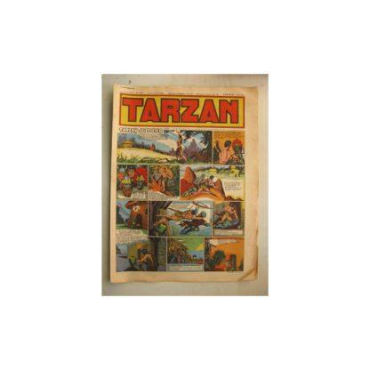 Tarzan Editions Mondiales (Del Duca) n°157 - 23 septembre 1949
