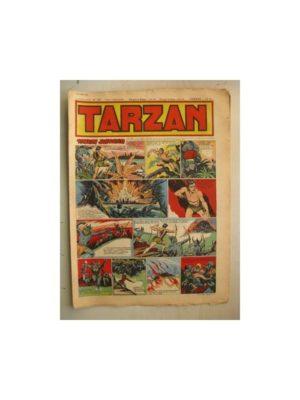 Tarzan Editions Mondiales n°158 – 2 octobre 1949 – Hogarth – Giffey – Buffalo Bill – Capitaine Risque tout