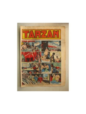 Tarzan Editions Mondiales n°159 – 9 octobre 1949 – Hogarth – Giffey – Buffalo Bill – Capitaine Risque tout