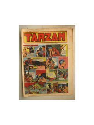 Tarzan Editions Mondiales (Del Duca) n°160 - 16 octobre 1949