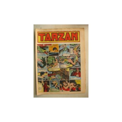 Tarzan Editions Mondiales n°161 - 23 octobre 1949 - Hogarth - Giffey - Buffalo Bill - Sacrifices inconnus
