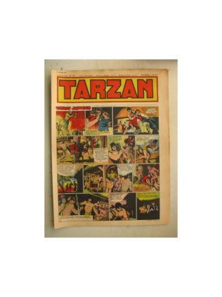 Tarzan Editions Mondiales n°162 - 30 octobre 1949 - Hogarth - Giffey - Buffalo Bill - Sacrifices inconnus