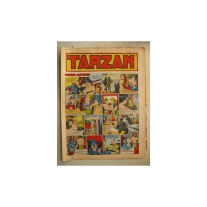 Tarzan Editions Mondiales n°163 - 6 novembre 1949 - Hogarth - Giffey - Buffalo Bill - Capitaine Risque tout
