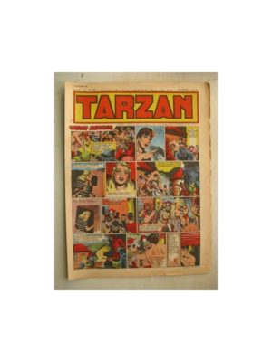 Tarzan Editions Mondiales n°164 – 13 novembre 1949 – Hogarth – Giffey – Buffalo Bill – L'Epervier – Sacrifices inconnus