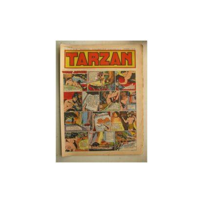 Tarzan Editions Mondiales n°165 - 20 novembre 1949 - Hogarth - Giffey - Buffalo Bill - L'Epervier - Sacrifices inconnus