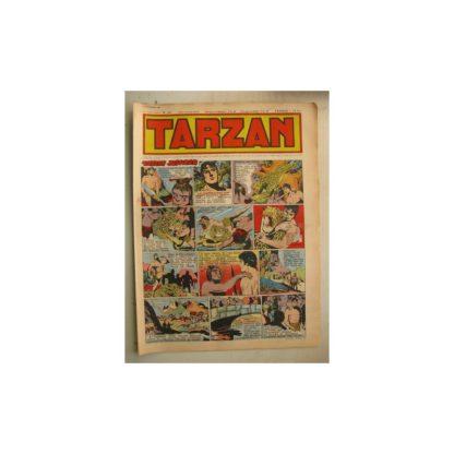Tarzan Editions Mondiales n°166 - 27 novembre 1949 - Hogarth - Giffey - Buffalo Bill - L'Epervier - Sacrifices inconnus