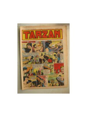 Tarzan Editions Mondiales n°168 - 11 décembre 1949 - Hogarth - Giffey - Buffalo Bill - L'Epervier - Sacrifices inconnus