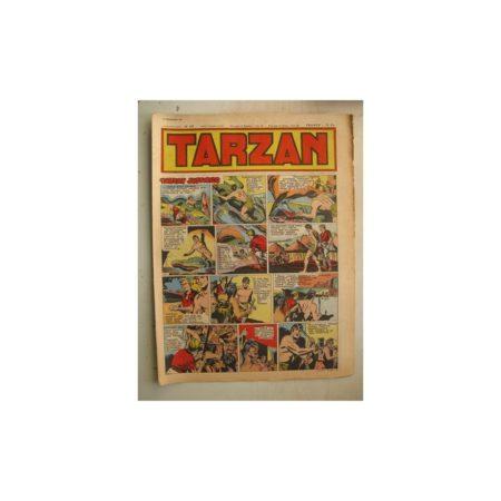 Tarzan Editions Mondiales n°169 - 18 décembre 1949 - Hogarth - Giffey - Buffalo Bill - L'Epervier - Sacrifices inconnus
