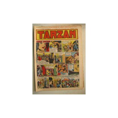 Tarzan Editions Mondiales n°170 - 25 décembre 1949 - Hogarth - Giffey - Buffalo Bill - L'Epervier - Sacrifices inconnus