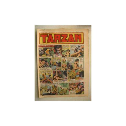 Tarzan Editions Mondiales n°171 - 1er janvier 1950 - Hogarth - Giffey - Buffalo Bill - L'Epervier - Sacrifices inconnus