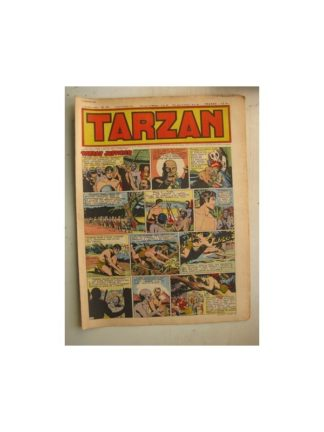 Tarzan Editions Mondiales n°172 - 8 janvier 1950 - Hogarth - Giffey - Buffalo Bill - L'Epervier - Sacrifices inconnus