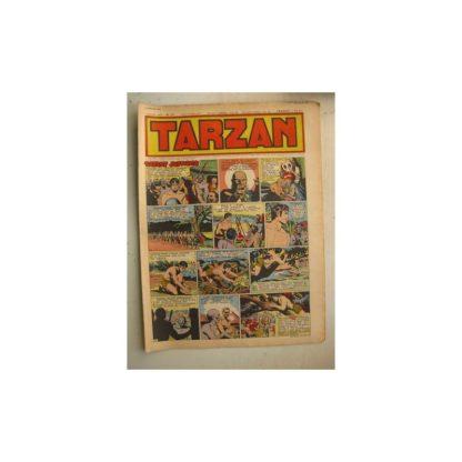 Tarzan Editions Mondiales n°172 - 8 janvier 1950 - Hogarth - Giffey - Buffalo Bill - L'Epervier - Sacrifices inconnus