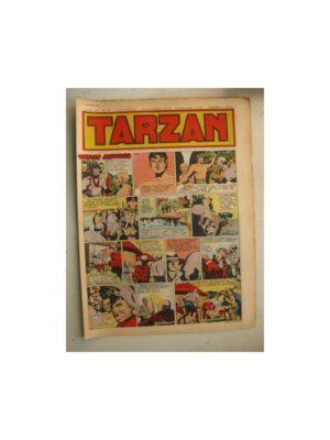 Tarzan Editions Mondiales n°173 - 15 janvier 1950 - Hogarth - Giffey - Buffalo Bill - L'Epervier - Sacrifices inconnus