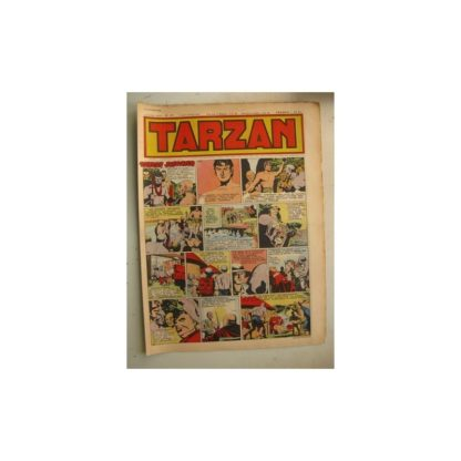 Tarzan Editions Mondiales n°173 - 15 janvier 1950 - Hogarth - Giffey - Buffalo Bill - L'Epervier - Sacrifices inconnus