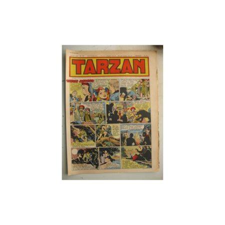 Tarzan Editions Mondiales n°174 - 22 janvier 1950 - Hogarth - Giffey - Buffalo Bill - L'Epervier - Sacrifices inconnus