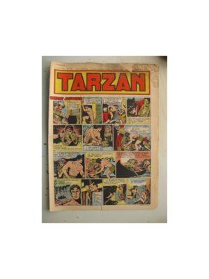 Tarzan Editions Mondiales n°175 - 29 janvier 1950 - Hogarth - Giffey - Buffalo Bill - L'Epervier - Sacrifices inconnus