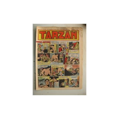 Tarzan Editions Mondiales n°175 - 29 janvier 1950 - Hogarth - Giffey - Buffalo Bill - L'Epervier - Sacrifices inconnus
