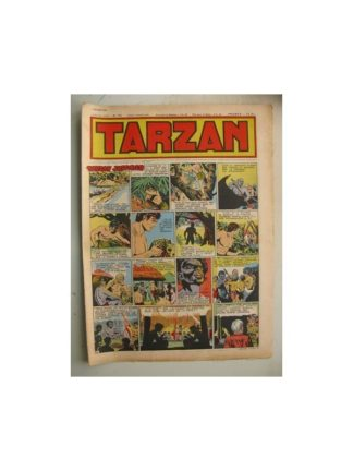 Tarzan Editions Mondiales n°176 - 5 février 1950 - Hogarth - Giffey - Buffalo Bill - L'Epervier - Sacrifices inconnus