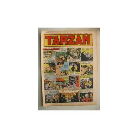 Tarzan Editions Mondiales n°176 - 5 février 1950 - Hogarth - Giffey - Buffalo Bill - L'Epervier - Sacrifices inconnus