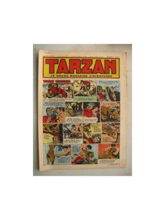 Tarzan Editions Mondiales n°185 - 8 avril 1950 - Hogarth - Giffey - Buffalo Bill - L'Epervier - Le Chevalier idéal