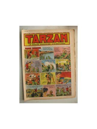 Tarzan Editions Mondiales n°186 - 15 avril 1950 - Hogarth - Giffey - Buffalo Bill - L'Epervier - Le Chevalier idéal
